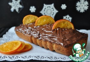 Рецепт Кекс с маком и карамелизированными апельсинами