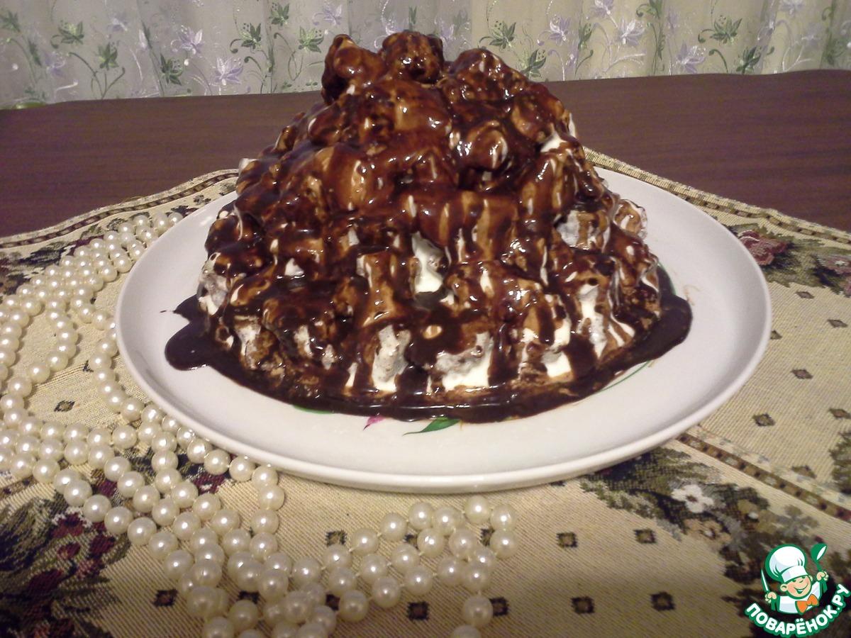 Торт ванька кучерявый рецепт пошагово