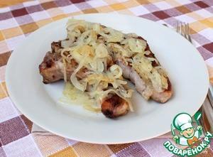 Рецепт Антрекот из свинины в духовке