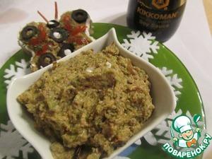 Рецепт Грибной паштет с кабачками
