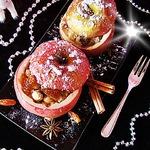 Яблоки, фаршированные кус-кусом
