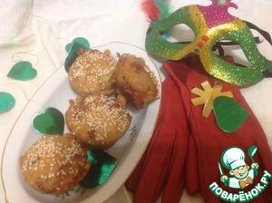 Рецепт Закусочные кексы на сыворотке