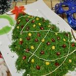 Салат на новый год «Елочка»