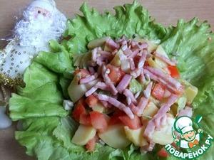 Рецепт Итальянский картофельный салат