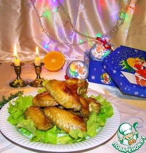Рецепт Крылышки в пряном маринаде