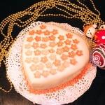 Торт Малиновое сердце