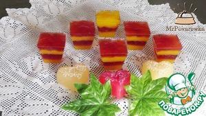 Рецепт Десерт из фруктового сока