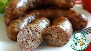 Рецепт Ароматная гриль-колбаска