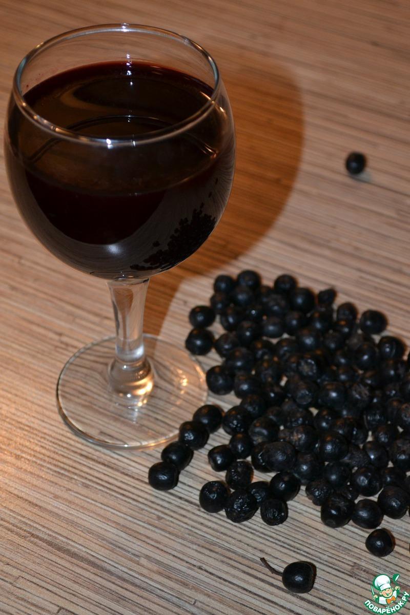 Ликер из черноплодки в домашних условиях