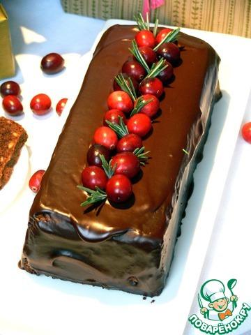 Шоколадный кекс на минералке рецепт