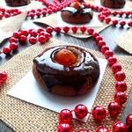 Печенье шоколадное с кумкватами
