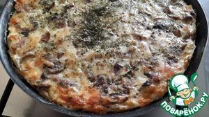 Как готовить Творожно-сырная запеканка с грибами рецепт с фото пошагово