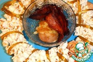 Рецепт Грилованный бекон с печеным картофелем