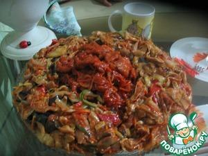 Рецепт Баклажаны по-китайски с соевым мясом