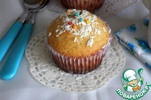 Рецепт Кокосово-лимонные кексы
