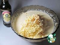 Праздничный сырный рулет с курицей ингредиенты