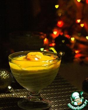 Пудинг из саго с персиковым соусом простой пошаговый рецепт приготовления с фотографиями