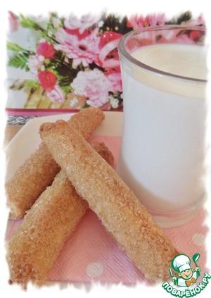 Рецепт Трубочки со сливочным сыром и корицей