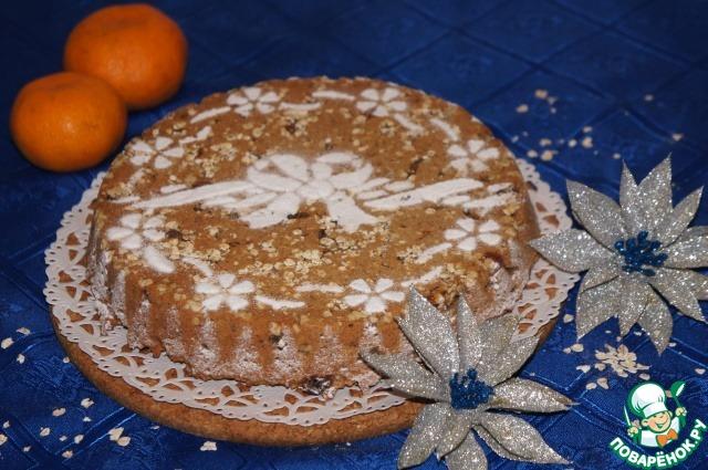 Датский рождественский овсяный пирог - кулинарный рецепт