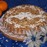 Датский рождественский овсяный пирог