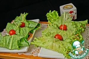 Острый салат с рисовой лапшой домашний пошаговый рецепт приготовления с фото