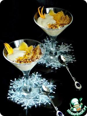 Рецепт Апельсины в ванильном соусе