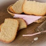 Белый хлеб на сыворотке с яблочным пюре