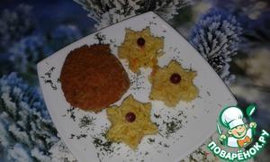 Рецепт Гороховые котлеты с печеночной начинкой