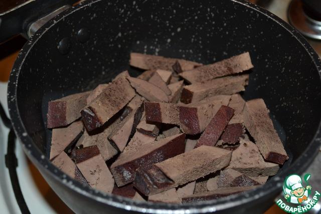 Как приготовить печень пошагово в