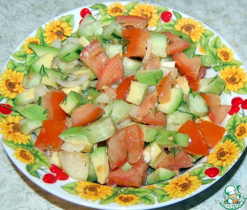 Весенний бриз салат рецепт с