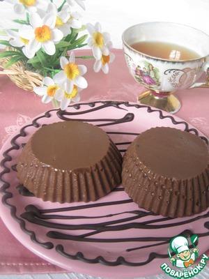 Как приготовить Шоколадный пудинг простой рецепт приготовления с фото пошагово