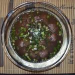 Суп из рыбных молок с рисом