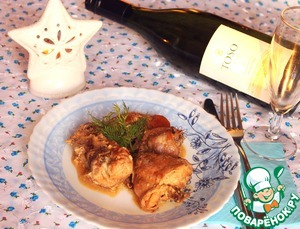 Кролик, томленый в белом вине и сметане с белыми грибами вкусный рецепт с фото пошагово