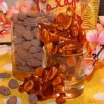 Миндаль в шоколаде и карамели