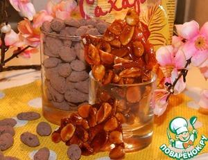 Миндаль в шоколаде и карамели вкусный рецепт приготовления с фото пошагово