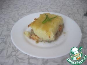 Картофельная запеканка с фаршем простой рецепт с фотографиями пошагово как приготовить