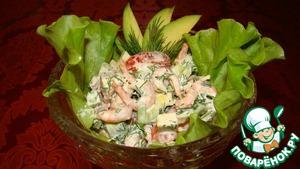 Авокадо с креветками вкусный пошаговый рецепт с фотографиями