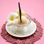 Йогуртовое ванильное мороженое