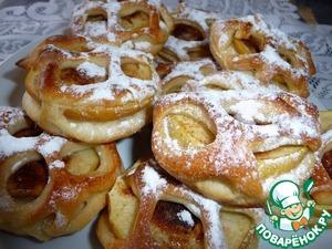 Яблоки и булочки с маком в дрожжевом тесте рецепт приготовления с фото пошагово