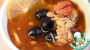 Мясная сборная солянка пошаговый рецепт с фотографиями