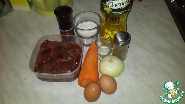 Печеночные оладьи рецепты с фото пошагово