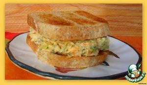 Рецепт Тунцовый салат для сэндвичей