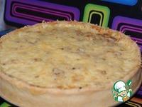 Пирог из лука-порея - кулинарный рецепт
