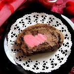 Шоколадный бисквитный рулет Сладкое признание