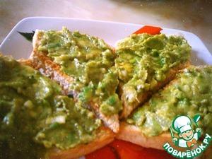 Как приготовить простой рецепт с фото Острый паштет из авокадо