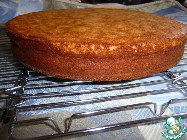 Торт на основе бисквита фото