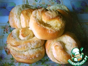 Воздушные плюшки вкусный рецепт с фотографиями пошагово