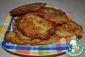 Драники с чесночным соусом домашний пошаговый рецепт с фотографиями