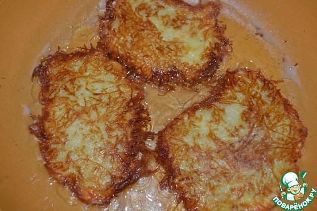 Драники с чесноком рецепт с пошагово