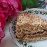 Торт из кунжутной меренги